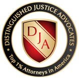 Distinguished Justice Advocates Badge